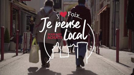 J'aime Foix, pour mes achats je pense local !